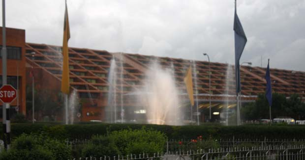 03 Tribhuvan International Airport Kathmandu only International Airport of Nepal