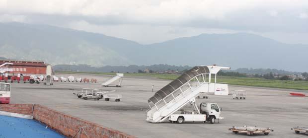 05 Tribhuvan International Airport Kathmandu only International Airport of Nepal