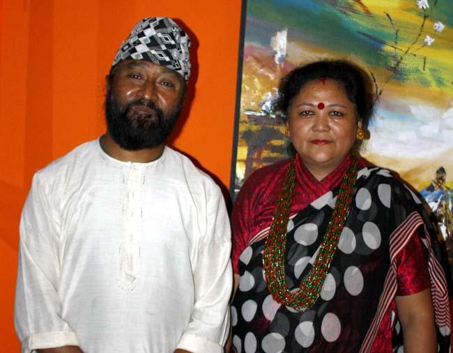 03 Deji Baraili Nepali singer from Darjeeling India