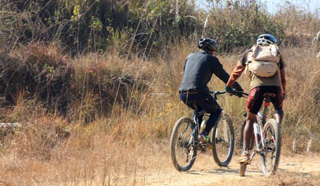02 Biking in Chovar Kathmandu