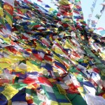 02 Buddhist prayer flags in Namobuddha, Kavre