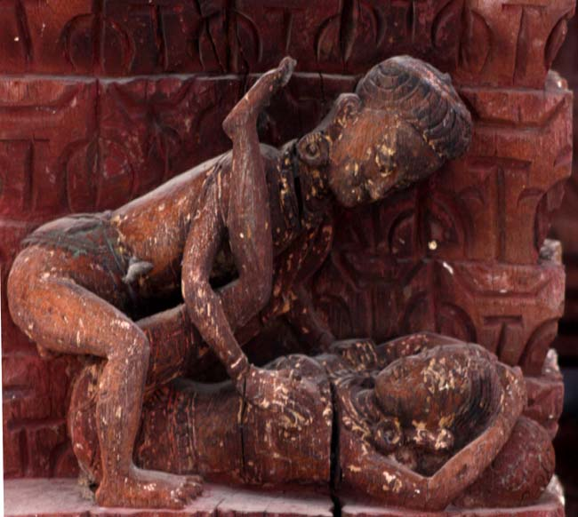 03 Tundal depicting Rati, The Kamasutra in Nepal