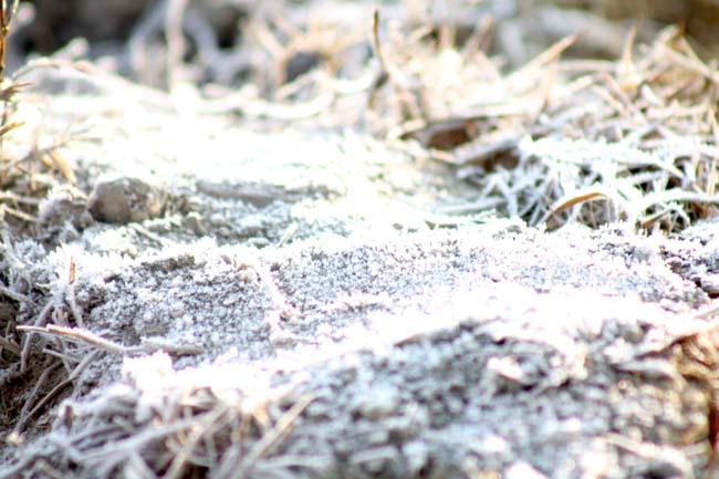 04 frosty morning in Nepal during November December