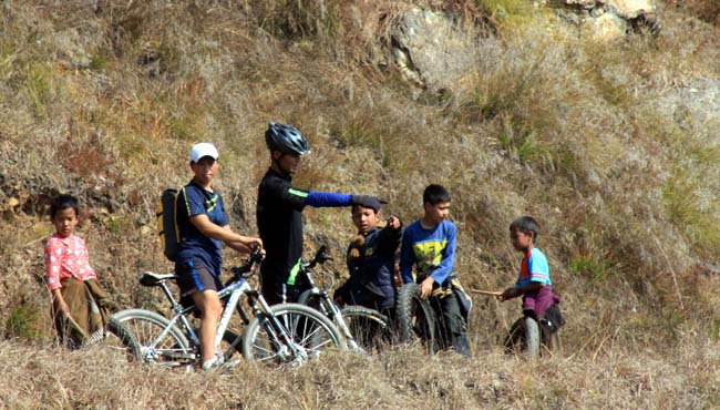 05 Biking in Chovar Kathmandu