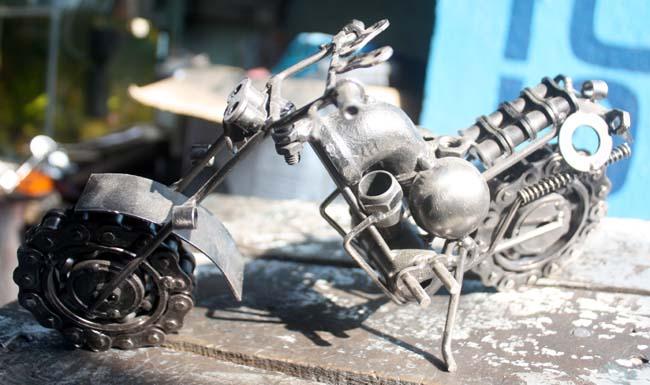 05 gewgaw motorbike made of parts of real motorbike in Nepal_Nepal Motorbike