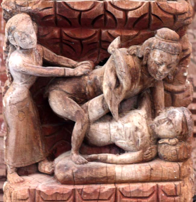 08 Tundal depicting Rati, The Kamasutra in Nepal