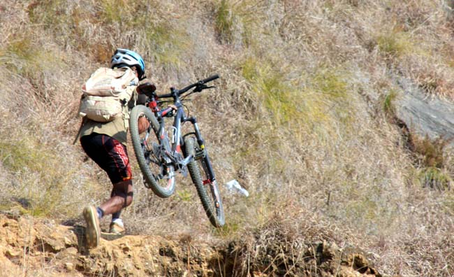 09 Biking in Chovar Kathmandu