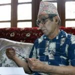 01 Madhav Prasad Ghimire born in October 22, 1919 is great Nepali poet honoured as the Rashtra Kavi