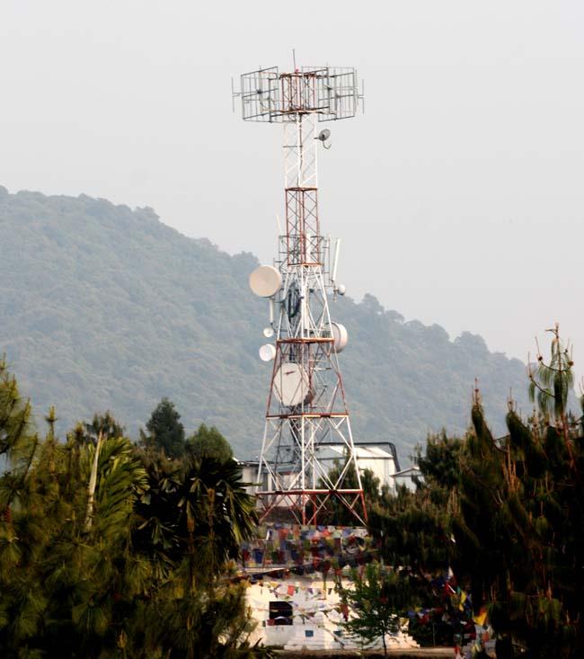 01 Telecom Antena Telecom Base Station BTS Telecom Station