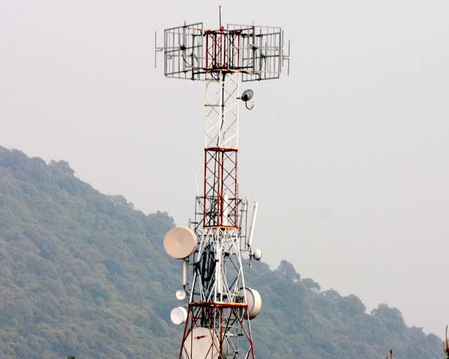 02 Telecom Antena Telecom Base Station BTS Telecom Station