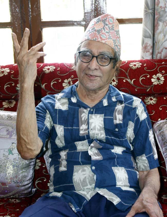 04 Madhav Prasad Ghimire born in October 22, 1919 is great Nepali poet honoured as the Rashtra Kavi