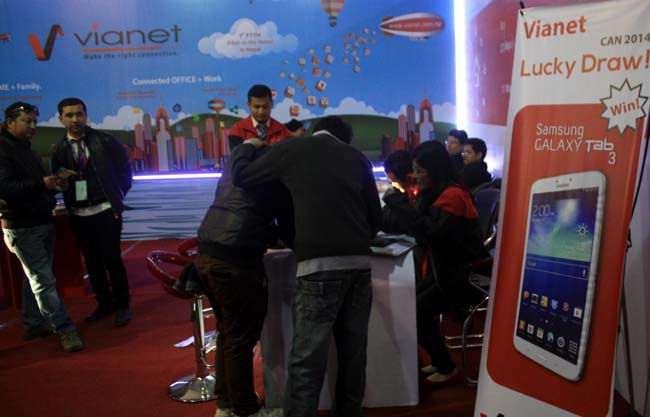 05 Focus on Internet Service  CAN INFOTECH 2014 organized by Computer Association of Nepal  Kathmandu Nepal