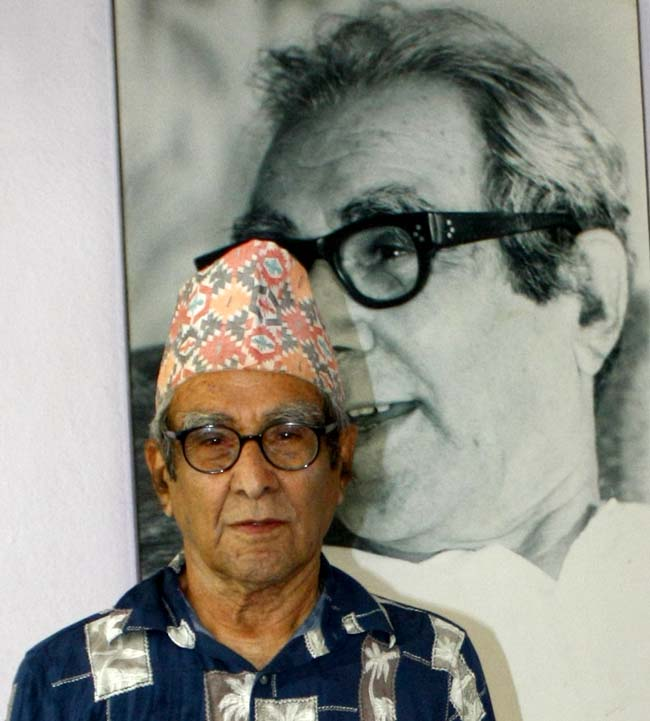 05 Madhav Prasad Ghimire born in October 22, 1919 is great Nepali poet honoured as the Rashtra Kavi