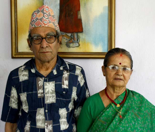 06 Madhav Prasad Ghimire born in October 22, 1919 is great Nepali poet honoured as the Rashtra Kavi