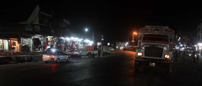 02 Night time in Mugling, Chitwan the city connects Kathmandu with Pokhara and other parts of Nepal