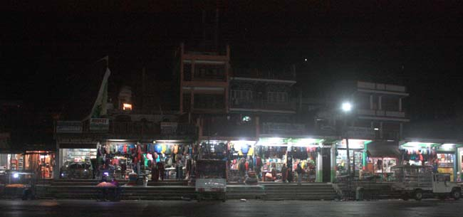 03 Night time in Mugling, Chitwan the city connects Kathmandu with Pokhara and other parts of Nepal