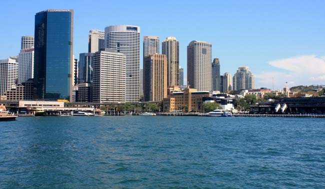 01 Sydney central business district CBD popularly referred to as the City Australia