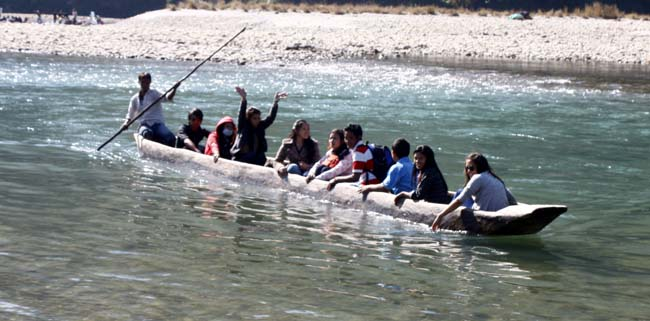 02 Boating in Indrawati Nepal_water recreation