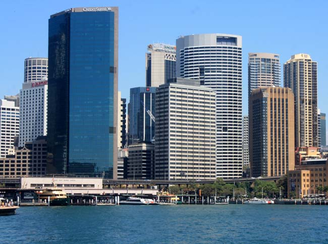 02 Sydney central business district CBD popularly referred to as the City Australia
