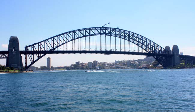 04 Sydney Harbour Bridge Australia Opposite to Sydney Opera House