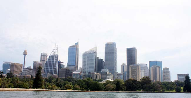 04 Sydney central business district CBD popularly referred to as the City Australia