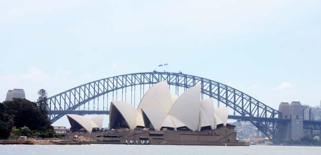 05 Sydney Harbour Bridge Australia Opposite to Sydney Opera House