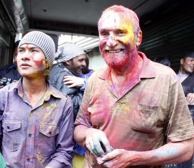 06 Holi in Nepal Fagu Purnima the festival of colors in Nepal and India