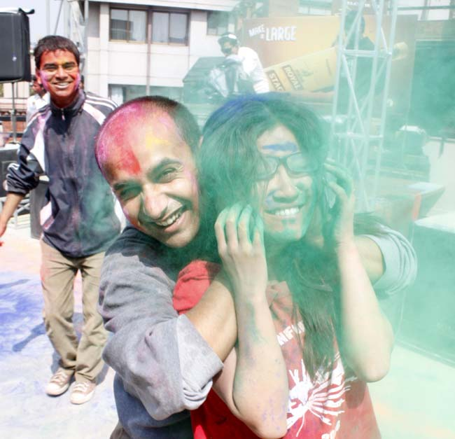 07 Holi in Nepal Fagu Purnima the festival of colors in Nepal and India