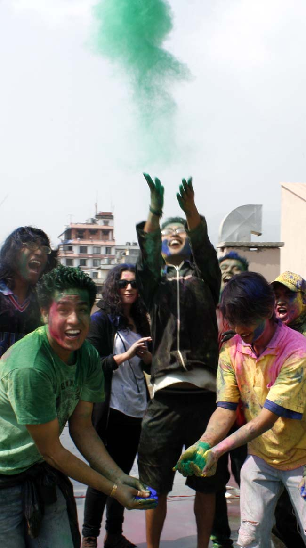 10 Holi in Nepal Fagu Purnima the festival of colors in Nepal and India