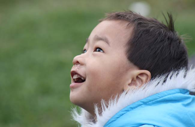Child Smiling Photography Close up child photography out door photography