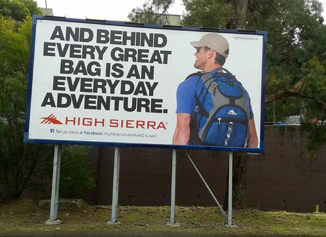 01 Out door advertising in Sydney Australia