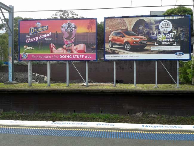 02 Out door advertising in Sydney Australia