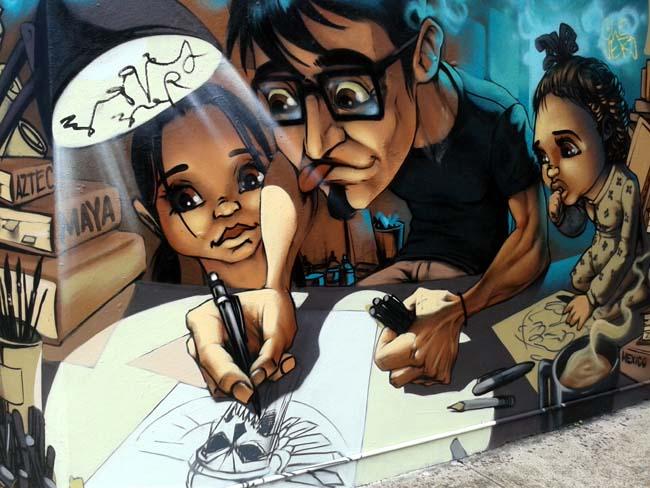 03 Sydney Art Art on Wall Wall painting in Australia