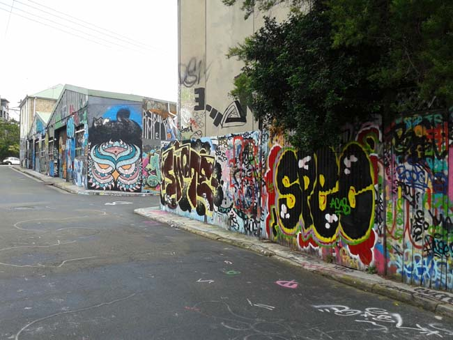 04 Sydney Art Art on Wall Wall painting in Australia