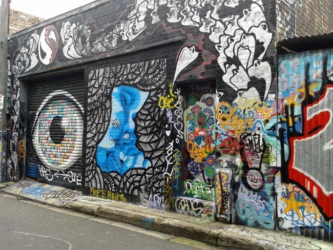 06 Sydney Art Art on Wall Wall painting in Australia