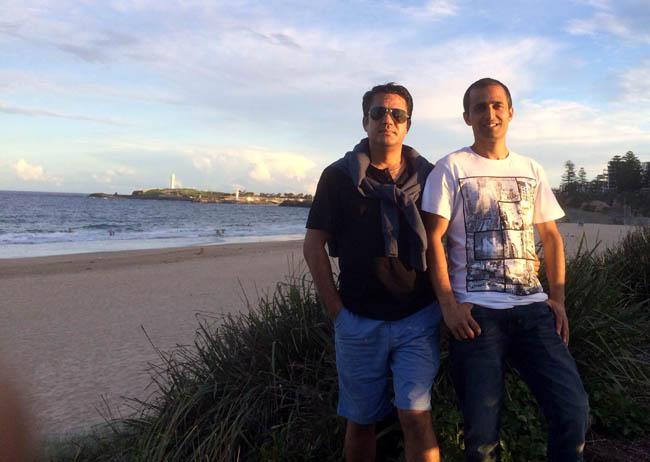 01 Hemanta Kafle's holiday in Wollongong
