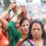 02 colourful Kalash Yatra being taken out in Kathmandu