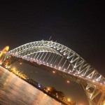 03 Sydney Harbour Bridge Australia in evening