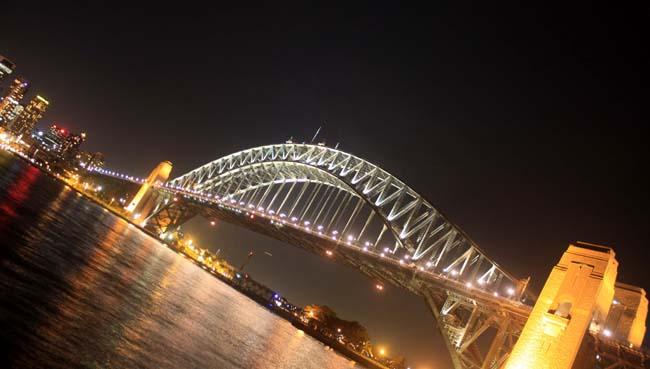 03 Sydney Harbour Bridge Australia in evening