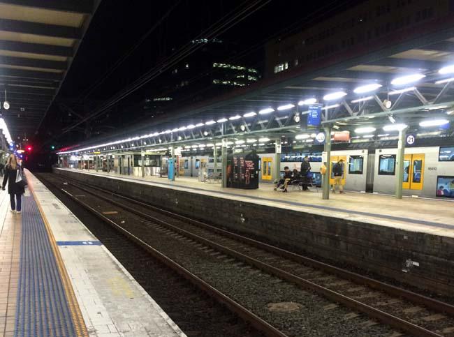 Central Train Station Sydney Australia 2