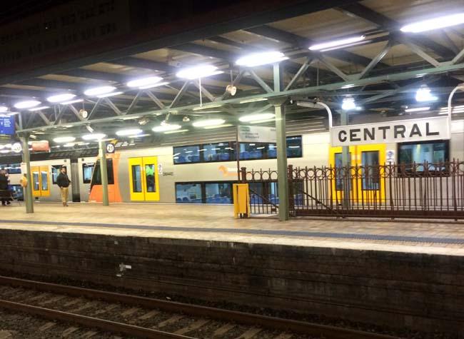 Central Train Station Sydney Australia 3
