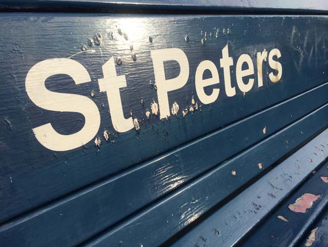 St Peters Train Station Sydney Australia