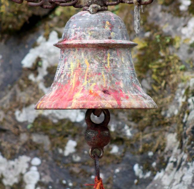 01 A Temple bell Photographed in Gorkha Kalika Temple Gorkha Durbar Area