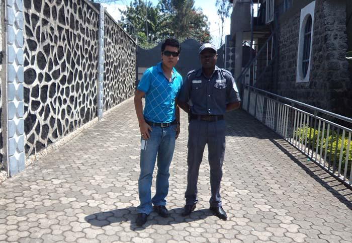 01 Gaurab Rana with Congolese boy