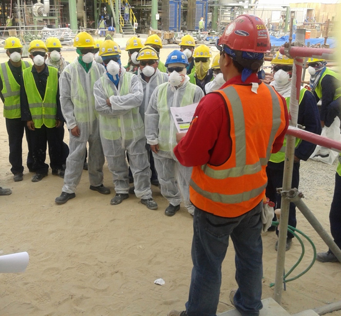 01 Nepali Workers in Saudi Arabia After Ammonia Gas leak