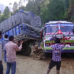 01 Rapti Highway near Rukum Poor highway
