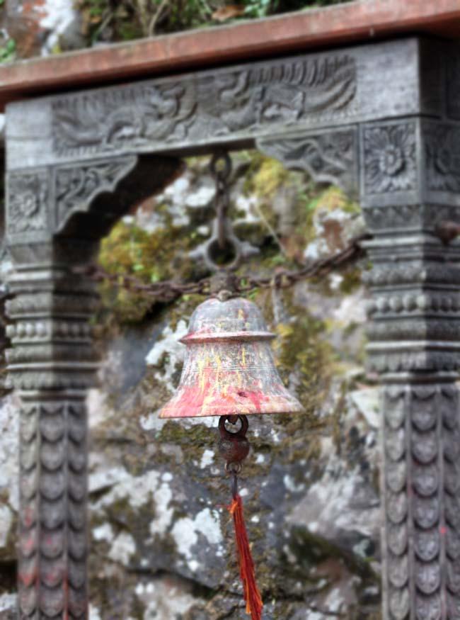 02 A Temple bell Photographed in Gorkha Kalika Temple Gorkha Durbar Area