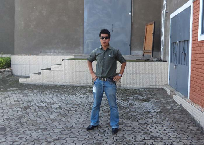 02 Gaurab Rana in Dr. Congo