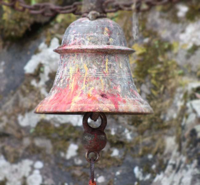 03 A Temple bell Photographed in Gorkha Kalika Temple Gorkha Durbar Area