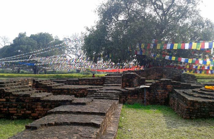 05 Prayer Flag in Lumbini, birthplace of Lord Buddha